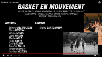 VIDEO : Basket en Mouvement par Mathéo Bouchet