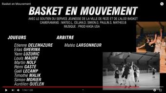 VIDEO : Basket en Mouvement par Mathéo Bouchet